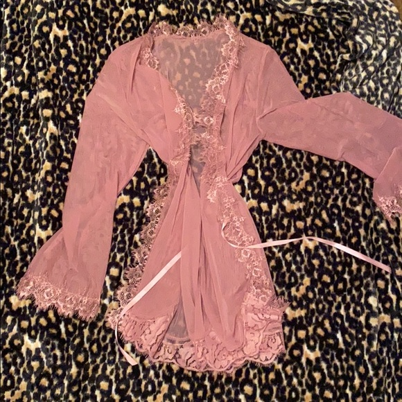 Other - Pink Lace Robe